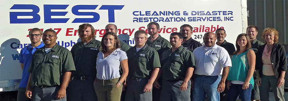 Best cleaning and restoration services team.