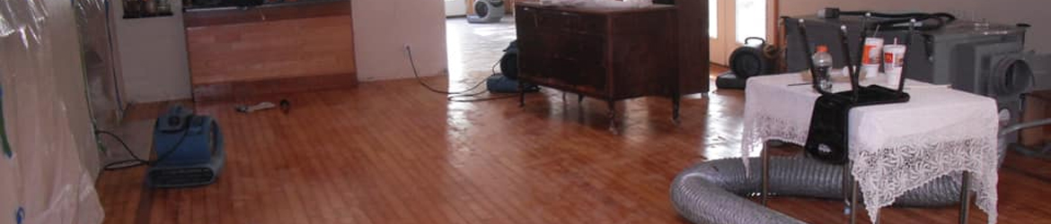 Wood Floor Damaged from Leak