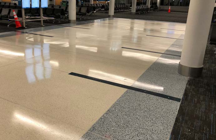 Restoration Services for Airports